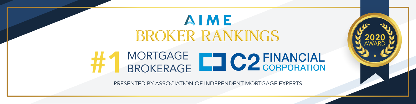C2 Financial Corp ranked number one mortgage broker in United States